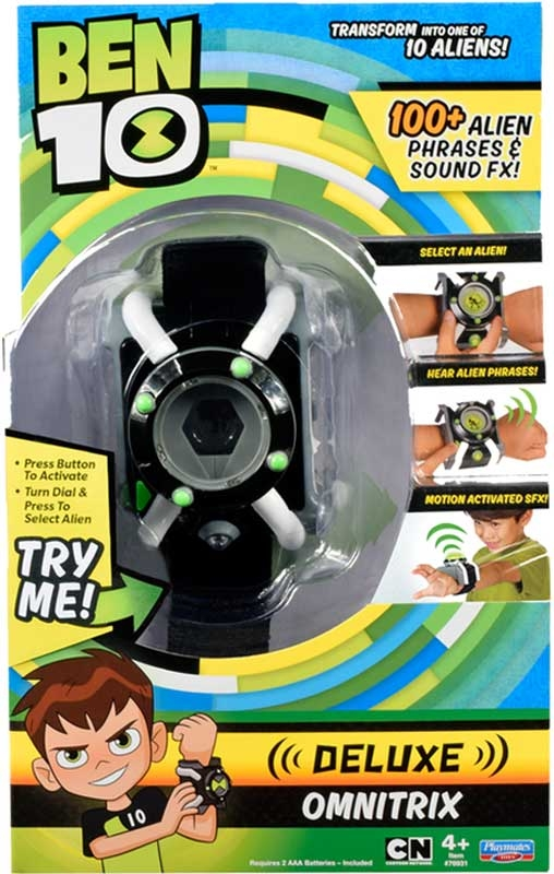 Wholesalers of Ben 10 Deluxe Omnitrix Eng Ic toys