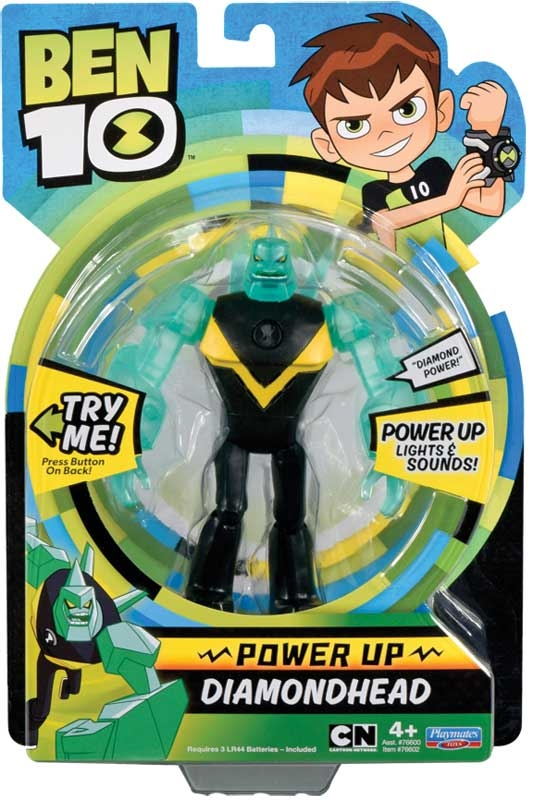 Wholesalers of Ben 10 Deluxe Power Up Figures - Diamondhead toys