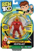 Wholesalers of Ben 10 Deluxe Power Up Figures - Heatblast toys image