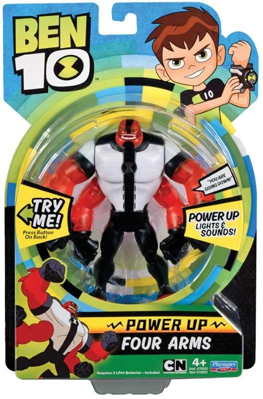 Wholesalers of Ben 10 Deluxe Power Up Figures Asst Wave 1 toys