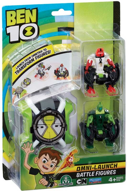 Wholesalers of Ben 10 Omni Launcher & Battle Figures - Fourarms & Wildvine toys