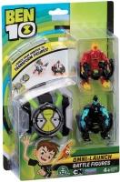 Wholesalers of Ben 10 Omni Launcher & Battle Figures - Heatblast & Xlr8 toys image