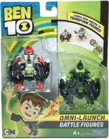 Wholesalers of Ben 10 Omni Launcher Battle Figures Refill - Fourarms & Wild toys image
