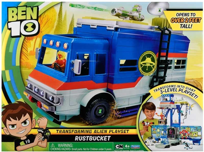 Wholesalers of Ben 10 Rust Bucket Playset toys