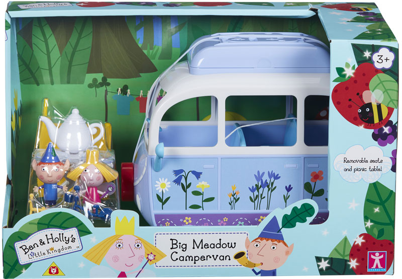 Wholesalers of Ben And Holly Big Meadow Campervan toys