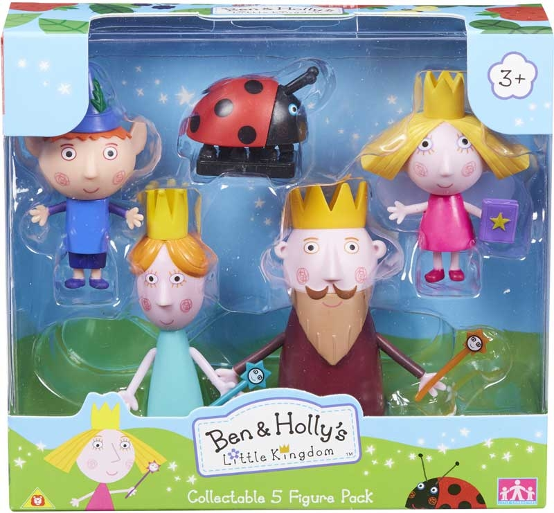 Wholesalers of Ben And Holly Collectables 5-figure Pack toys