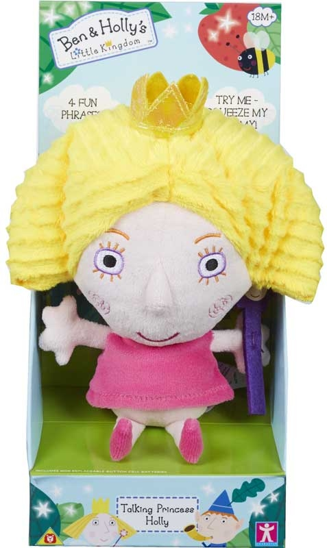 Wholesalers of Ben And Holly Talking Plush toys