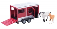 Wholesalers of Big Farm Horse Trailer With Horse toys image
