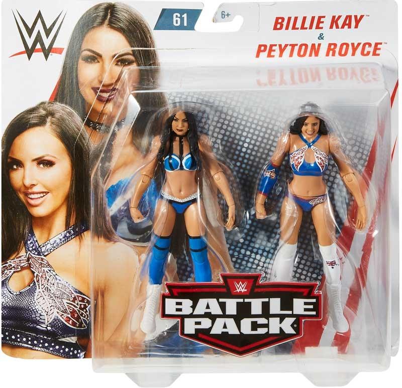 Wholesalers of Billie Kay & Peyton Royce toys