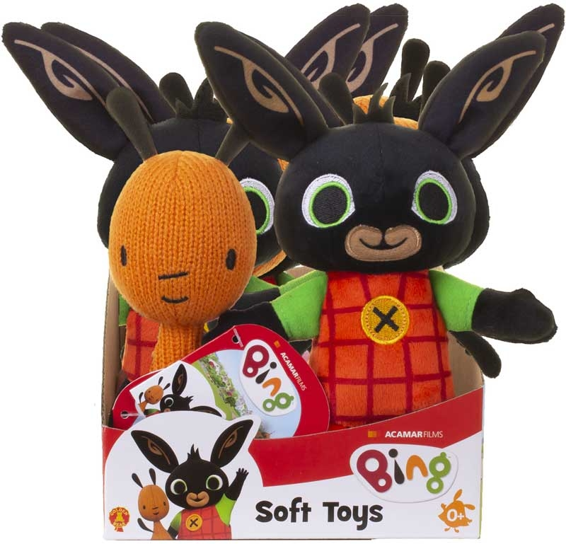 Wholesalers of Bing And Flop Soft Toys Asst toys
