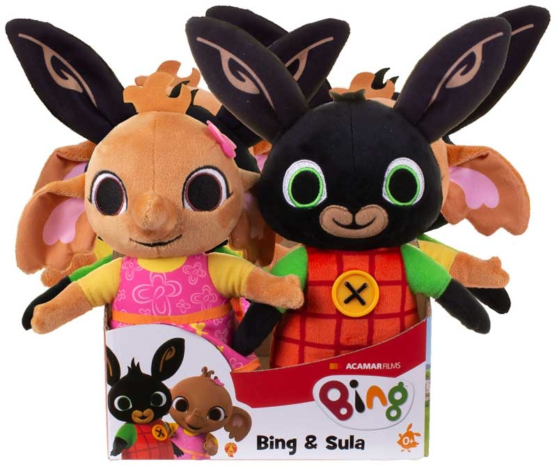 Wholesalers of Bing And Sula Soft Toys Asst toys