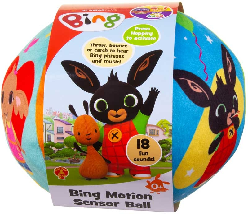 Wholesalers of Bing Motion Sensor Ball toys