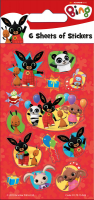Wholesalers of Bing Party - 6 Sheets Stickers toys image