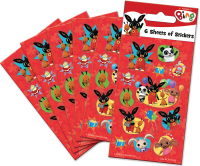Wholesalers of Bing Party - 6 Sheets Stickers toys image 2