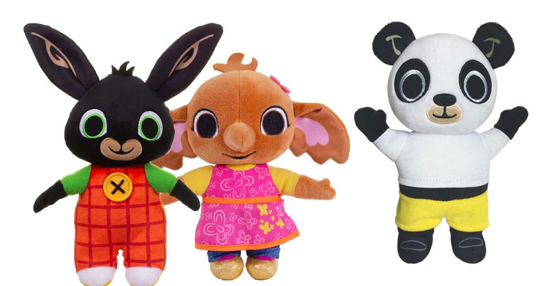 Wholesalers of Bing Soft Toys Asst toys