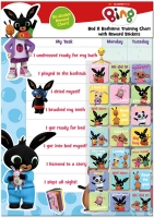 Wholesalers of Bing Bath & Bedtime Reward Chart toys image