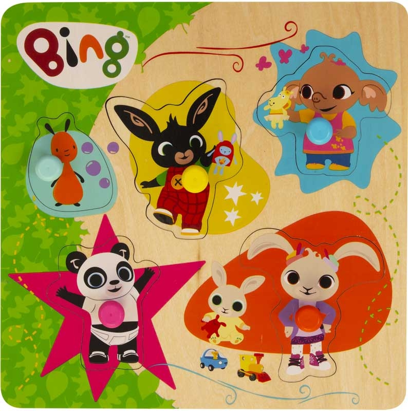 Wholesalers of Bing Wooden Pick And Place Puzzle toys