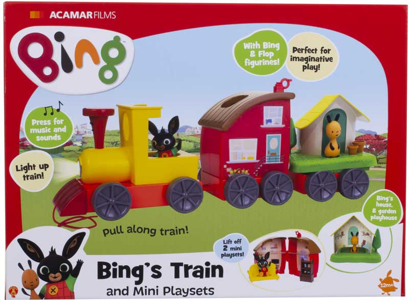 Wholesalers of Bings Lights And Sounds Train With Mini Playsets toys