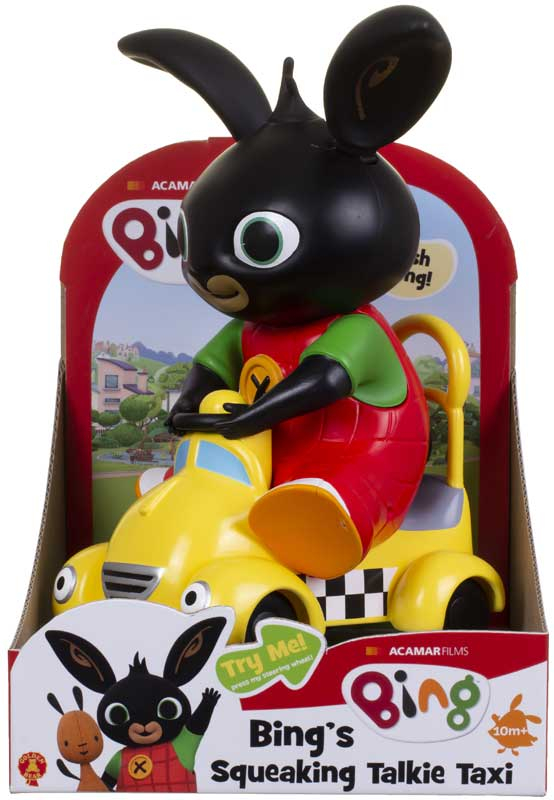Wholesalers of Bings Squeaking Talkie Taxi toys