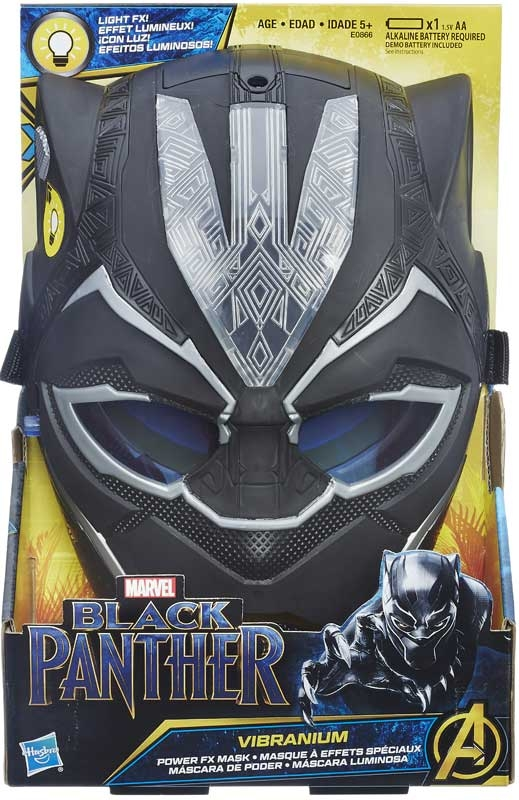 Wholesalers of Black Panther Hero Panther Feature Mask toys