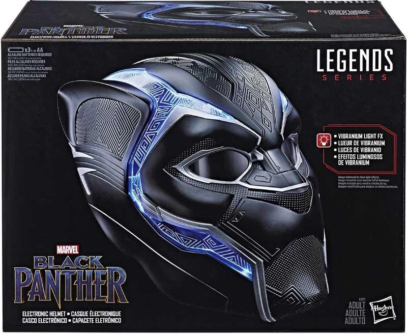 Wholesalers of Black Panther Legends Helmet toys