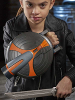 Wholesalers of Black Widow Skull Feature Shield toys image 3
