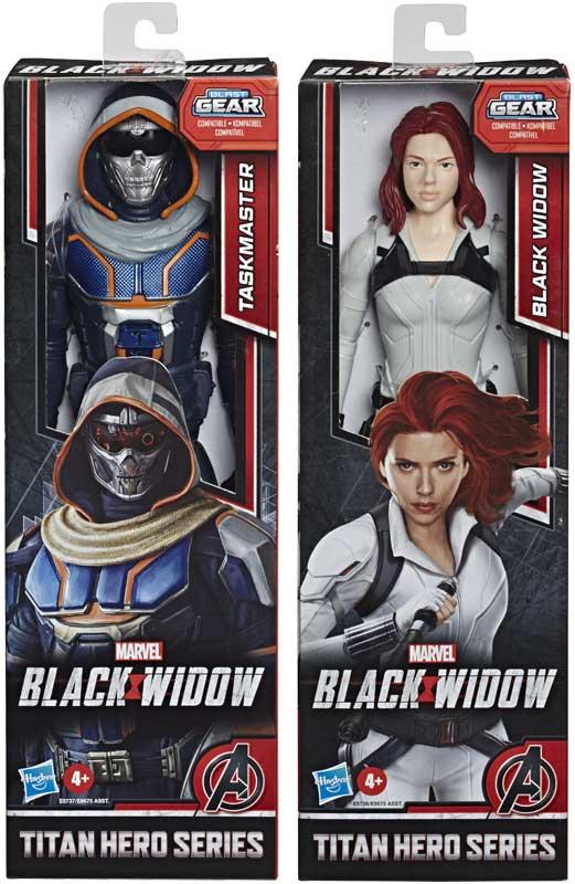 Wholesalers of Black Widow Titan Hero Series Asst toys