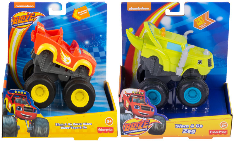Wholesalers of Blaze And The Monster Machines Slam And Go Asst toys