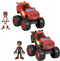 Wholesalers of Blaze And The Monster Machines Vehicle And Figure Set Asst toys image