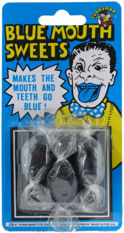 Wholesalers of Blue Mouth Sweets toys