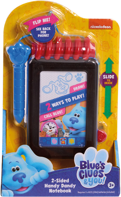Wholesalers of Blues Clues & You! 2 Sided Handy Dandy Notebook toys