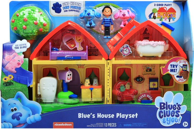 Wholesalers of Blues Clues & You! Blues House Playset toys