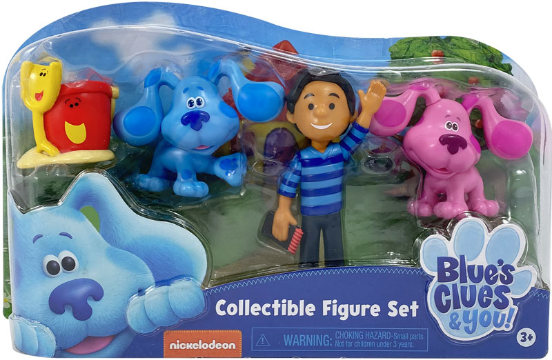 Wholesalers of Blues Clues & You! Collectible Figure Set toys