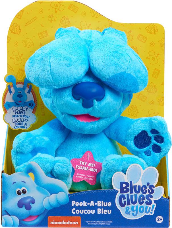 Wholesalers of Blues Clues & You! Peek-a-boo Plush - Blue toys