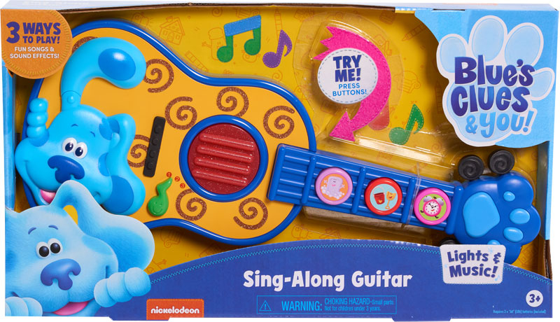Wholesalers of Blues Clues & You! Sing-along Guitar toys