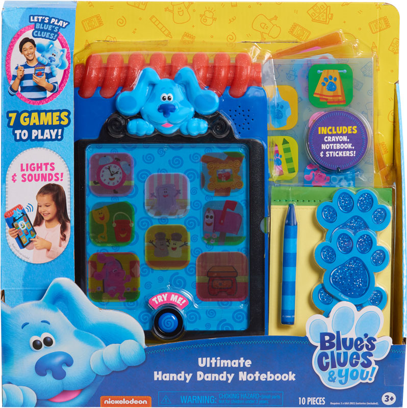 Wholesalers of Blues Clues & You! Ultimate Handy Dandy Notebook toys