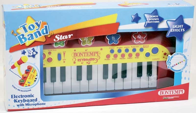 Wholesalers of Bontempi Electronic Keyboard With Microphone toys