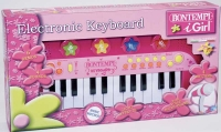 Wholesalers of Bontempi Electronic Keyboard - I Girl toys image