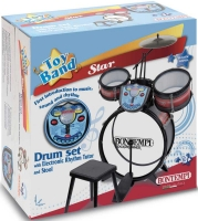 Wholesalers of Bontempi Drum Set With Electronic Rhythm Tutor And Stool toys image