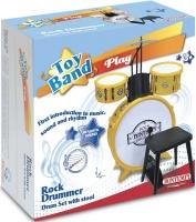 Wholesalers of Bontempi Drum Set 4 Pcs With Stool toys image