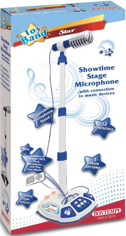 Wholesalers of Bontempi Showtime Stage Microphone toys