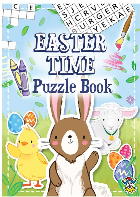 Wholesalers of Book Fun Easter Puzzle 10.5cm X 14.5cm toys