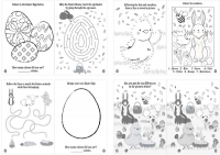 Wholesalers of Book Fun Easter Puzzle 10.5cm X 14.5cm toys image 2