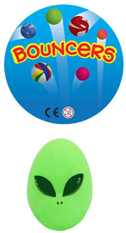 Wholesalers of Bouncers Egg Shaped Gid Aliens toys