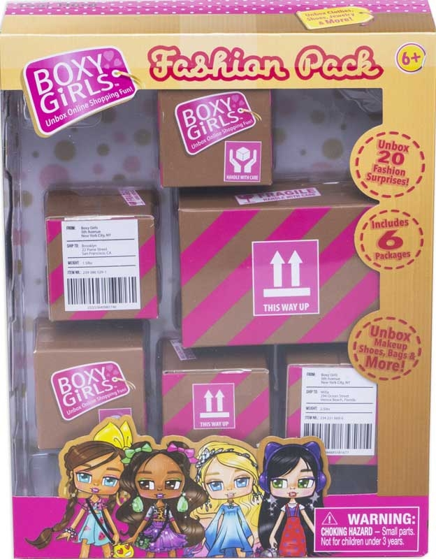 Wholesalers of Boxy Girls Fashion Pack toys