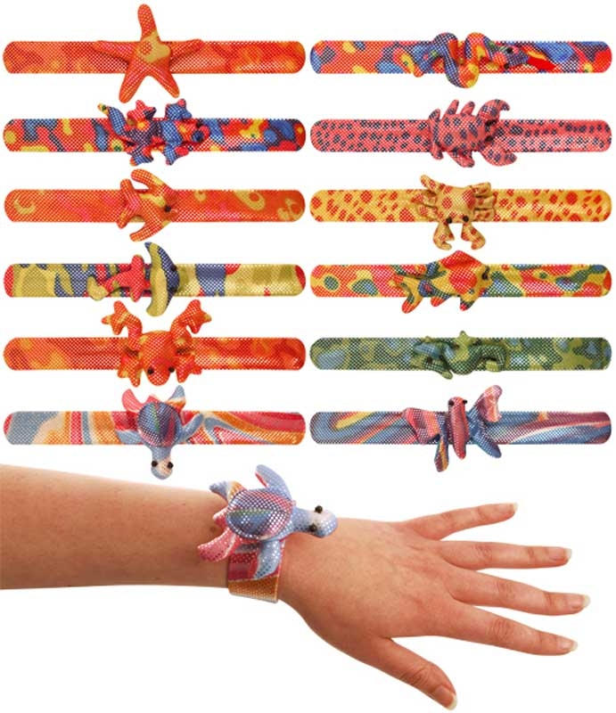 Wholesalers of Bracelet Snap Animals 12 Asst Designs toys