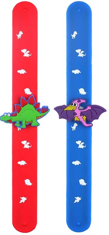 Wholesalers of Bracelet Snap Dinosaur With Print toys