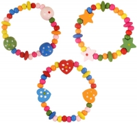 Wholesalers of Bracelet Wood Bead 16cm toys image