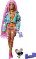 Wholesalers of Brb Xtra Pink Braids toys image 2