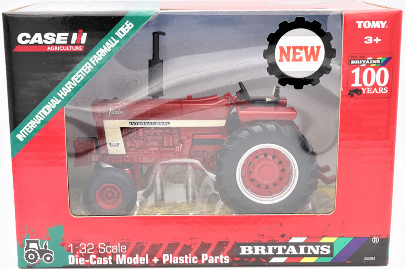 Wholesalers of Britains Case International Harvester Farmall 1066 toys